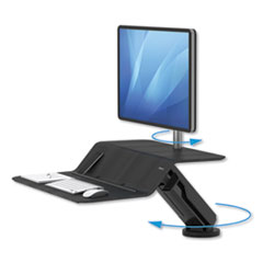 Fellowes® Lotus™ RT Sit-Stand Workstation