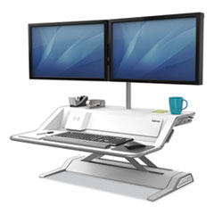 Fellowes® Lotus™ DX Sit-Stand Workstation