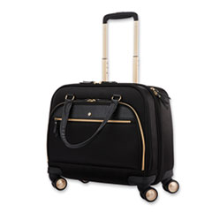 """Samsonite® Mobile Solution Mobile Office Case, Fits Laptops up to 15.6"""", 16.5 x 7 x 15.5, Black"""