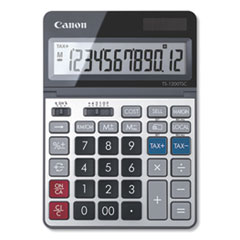 Canon® TS-1200TSC Desktop Calculator, 12-Digit LCD