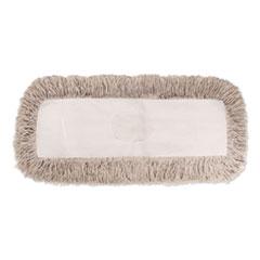 Boardwalk® Industrial Dust Mop Head, Hygrade Cotton, 36w x 5d, White