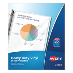 Avery® Heavy Duty Vinyl Sheet Protector