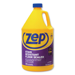 Zep Commercial® Stain Resistant Floor Sealer, Unscented, 1 gal, 4/Carton
