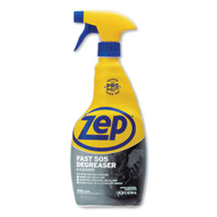 Zep Commercial® Fast 505 Cleaner and Degreaser, 32 oz Spray Bottle, 12/Carton