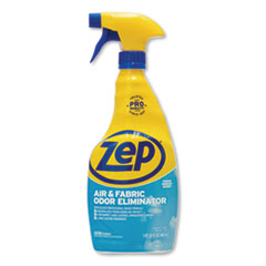 Zep Commercial® Air and Fabric Odor Eliminator, Fresh Scent, 32 oz, 12/Carton