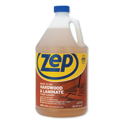 Zep Commercial® Hardwood and Laminate Cleaner, Fresh Scent, 1 gal, 4/Carton