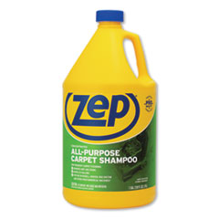 Zep Commercial® Concentrated All-Purpose Carpet Shampoo, Unscented, 1 gal, 4/Carton