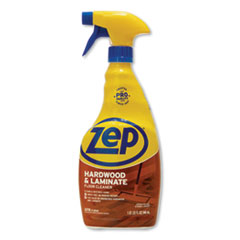 Zep Commercial® Hardwood and Laminate Cleaner, 32 oz Spray Bottle, 12/Carton