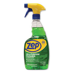 Zep Commercial® All-Purpose Cleaner and Degreaser, Fresh Scent, 32 oz Spray Bottle, 12/Carton