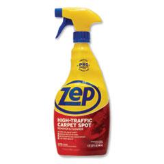 Zep Commercial® High Traffic Carpet Cleaner, Fresh Scent, 32 oz Spray Bottle, 12/Carton