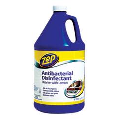 Zep Commercial® Antibacterial Disinfectant, Lemon Scent, 1 gal, 4/Carton