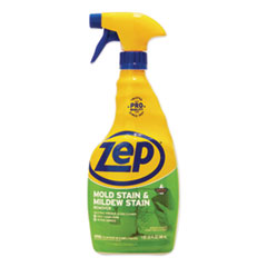 Zep Commercial® Mold Stain and Mildew Stain Remover, 32 oz Spray Bottle