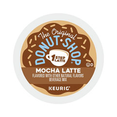 The Original Donut Shop® Mocha One Step Latte, Vanilla, 20/Box