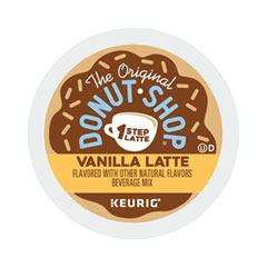 The Original Donut Shop® Vanilla One Step Latte, 20/Box