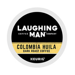 Laughing Man® Coffee Company Colombia Huila K-Cup Pods, 22/Box