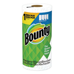 Bounty® Select-a-Size Kitchen Roll Paper Towels, 2-Ply, White, 5.9 x 11, 83 Sheets/Roll