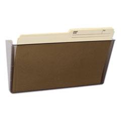 Wall File, Letter, 13 x 7, Single Pocket, Smoke