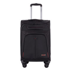 """Swiss Mobility Purpose Business Carry On, Holds Laptops 15.6"""", 11"""" x 11"""" x 22"""", Black"""