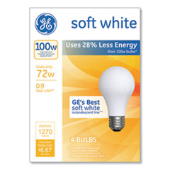 GE Energy-Efficient A19 Halogen Bulb