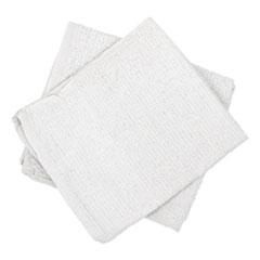 HOSPECO® Counter Cloth/Bar Mop, White, Cotton, 60/Carton