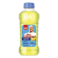 Mr. Clean® Multi-Surface Antibacterial Cleaner, Summer Citrus, 28 oz Bottle, 9/Carton