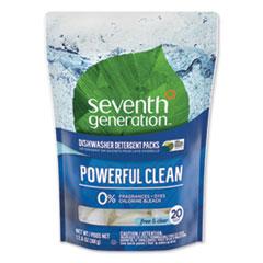 Seventh Generation® Natural Automatic Dishwasher Detergent Packs