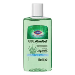 Clorox® Healthcare® GBG AloeGel Instant Gel Hand Sanitizer, 4 oz Bottle, 24/Carton
