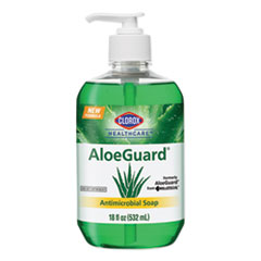 Clorox® Healthcare® AloeGuard® Antimicrobial Soap, Aloe Scent, 18 oz Pump Bottle, 12/Carton