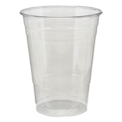 Dixie® Clear Plastic PETE Cups, Cold, 16oz, 25/Sleeve, 20 Sleeves/Carton