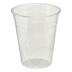 Dixie® Clear Plastic PETE Cups, Cold, 16oz, 50/Sleeve, 20 Sleeves/Carton