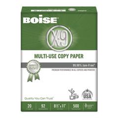 Boise® X-9 Multi-Use Copy Paper, 92 Bright, 20lb, 8.5 x 11, White, 500 Sheets/Ream, 5 Reams/Carton
