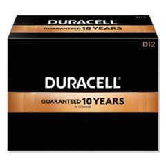 Duracell® CopperTop Alkaline D Batteries, 72/Carton