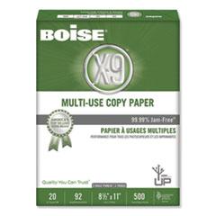Boise® X-9 Multi-Use Copy Paper, 92 Bright, 3-Hole, 20lb, 8.5 x 11, White, 500 Sheets/Ream, 10 Reams/Carton