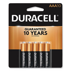Duracell® CopperTop Alkaline AAA Batteries, 10/Pack