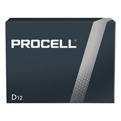 Procell Alkaline D Batteries, 12/Box