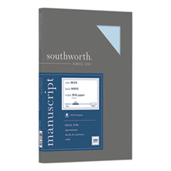 Southworth® 25% Cotton Manuscript Cover, 30lb, 9 x 12.5, 100/Pack