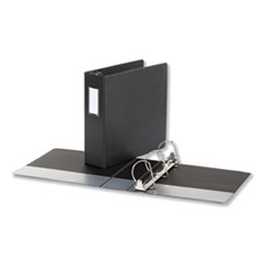 Universal® Deluxe Non-View D-Ring Binder with Label Holder