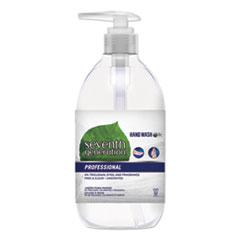 Natural Hand Wash, Free & Clean, Unscented, 12 oz Pump Bottle, 8/Carton