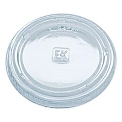 Fabri-Kal® Portion Cup Lids, Fits 3.25 oz to 5.5 oz Cups, Clear, 2,500/Carton