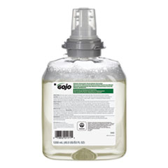 GOJO® TFX Green Certified Foam Hand Cleaner Refill, Unscented, 1,200 mL, 2/Carton
