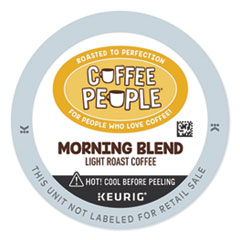 Coffee People® Morning Blend K-Cup, 24/BX