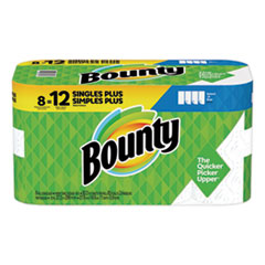Bounty® Select-a-Size Paper Towels, 2-Ply, White, 5.9 x 11, 83 Sheets/Roll, 8 Rolls/CT