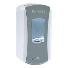 "PROVON® LTX-12 Dispenser, 1200 mL, 5.75"" x 3.38"" x 10.63"", Gray/White, 4/Carton"