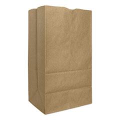 "General Grocery Paper Bags, 57 lbs Capacity, #25, 8.25""w x 6.13""d x 15.88""h, Kraft, 500 Bags"
