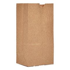 "General Grocery Paper Bags, 30 lbs Capacity, #1, 3.5""w x 2.38""d x 6.88""h, Kraft, 500 Bags"