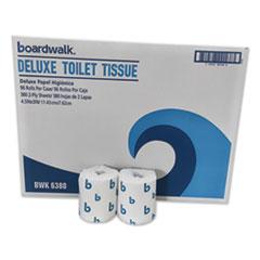 Boardwalk® Boardwalk Green Plus Bathroom Tissue, 2-Ply, White, 400 Sheets, 96 Rolls/Carton