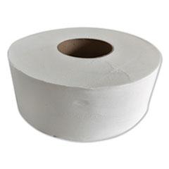 """GEN JRT Jr. Jumbo-Junior Bath Tissue, 2-Ply, White, 3.1"""" x 1,000 ft, 12/Carton"""