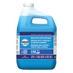 Dawn® Professional Manual Pot/Pan Dish Detergent, Original Scent, 1 gal Closed-Loop Plastic Jug, 4/Carton