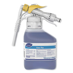 Diversey™ Virex Plus One-Step Disinfectant Cleaner and Deodorant, 1.5 L Closed-Loop Plastic Bottle, 2/Carton