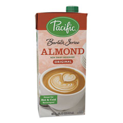 Silk® Pacific Barista Series Non-Dairy Creamer, Original Almond Flavor, 32 oz Aseptic Box, 12/Carton